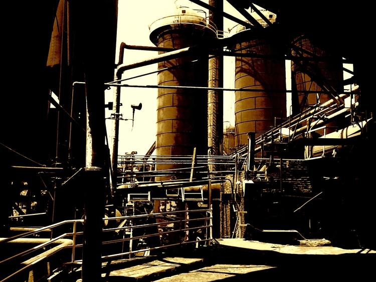 Sloss Furnace Birmingham, AL -  - ironmikenorton | ello