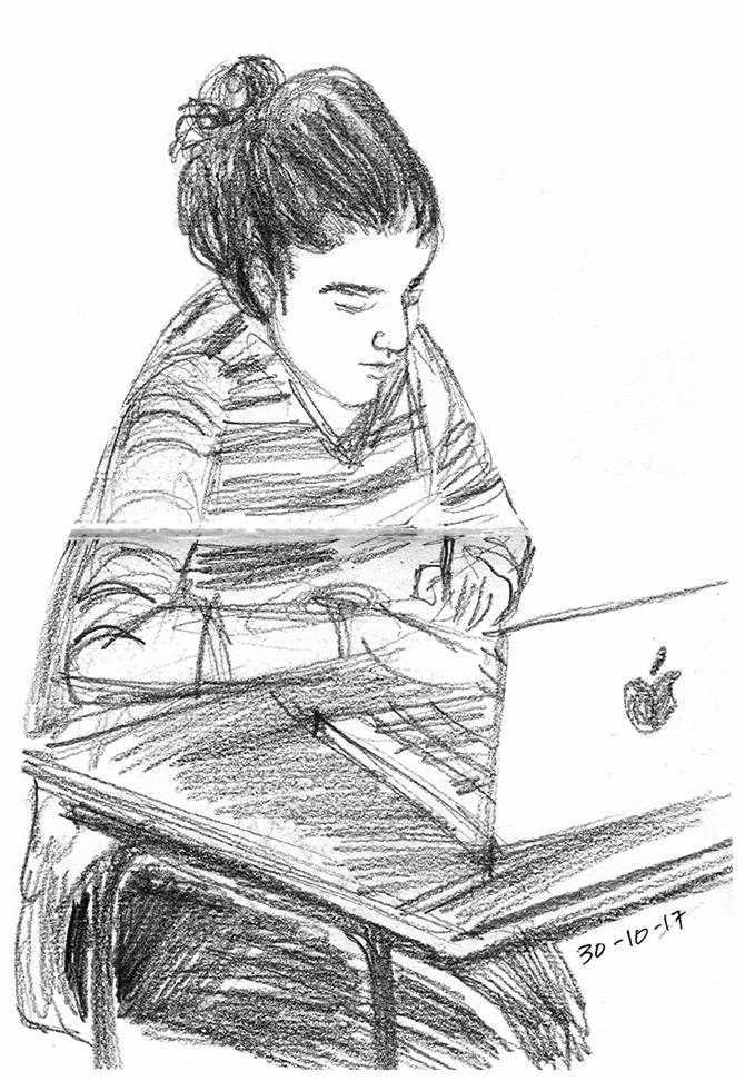 sketchbook drawings - drawing, people - jayeshsivan | ello
