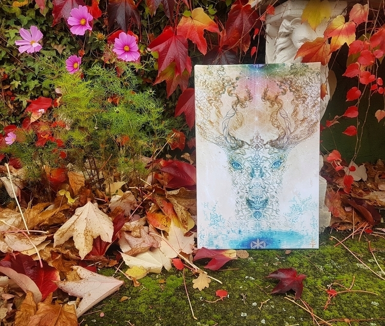 Light Deer Autumn Submitted [De - chitreesign | ello