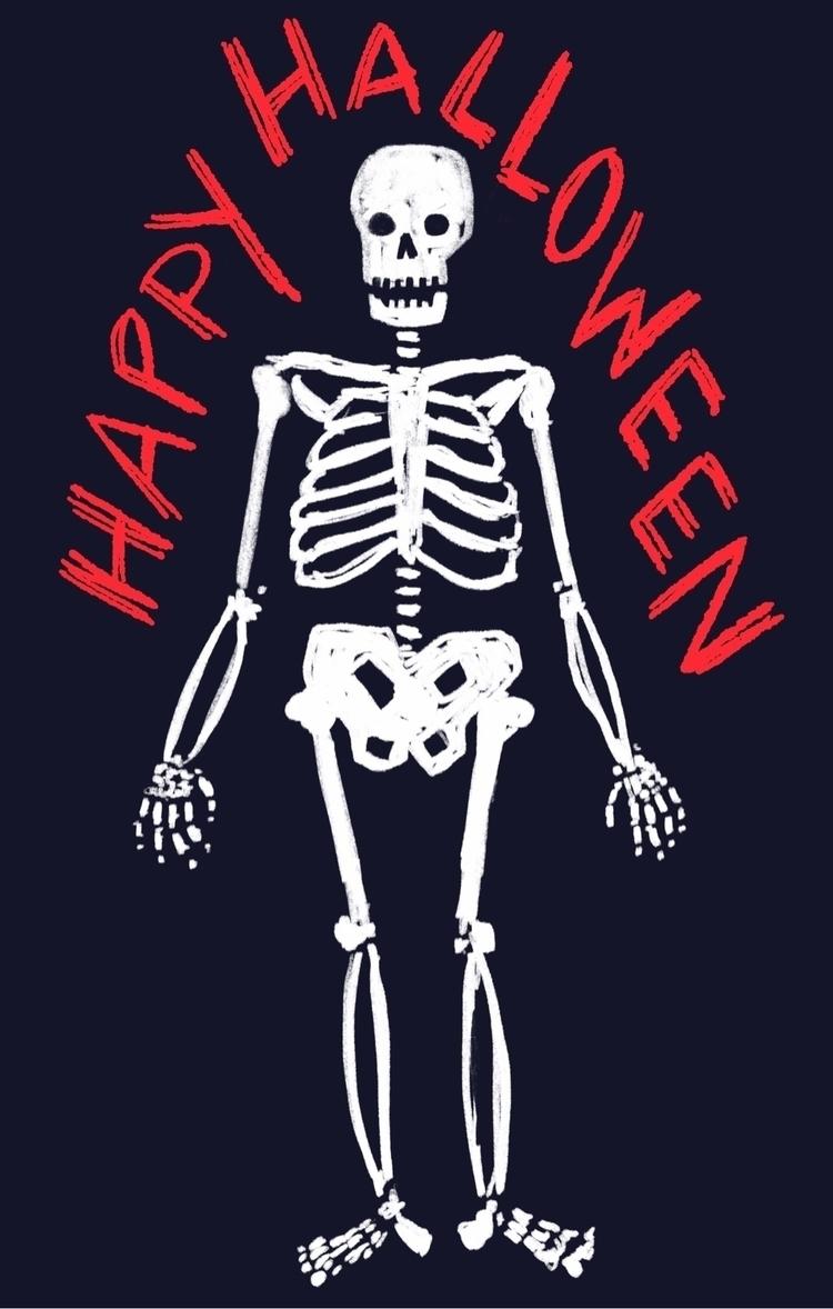 Halloween, skeleton - reneeleigh | ello