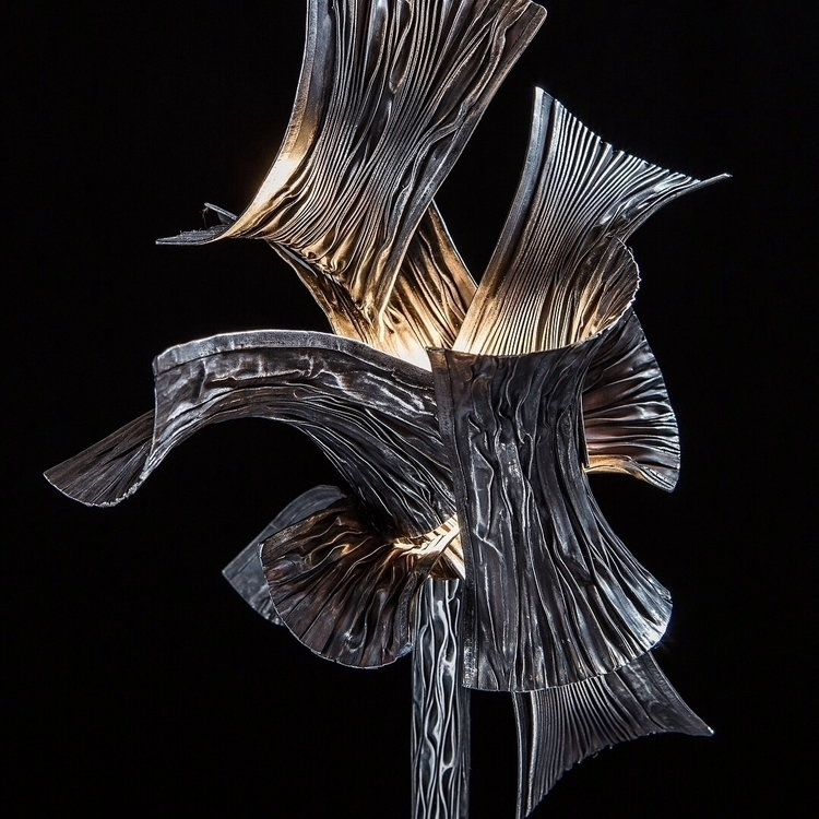 Lamp , metal. Winner foldformin - ferruccio-maierna | ello