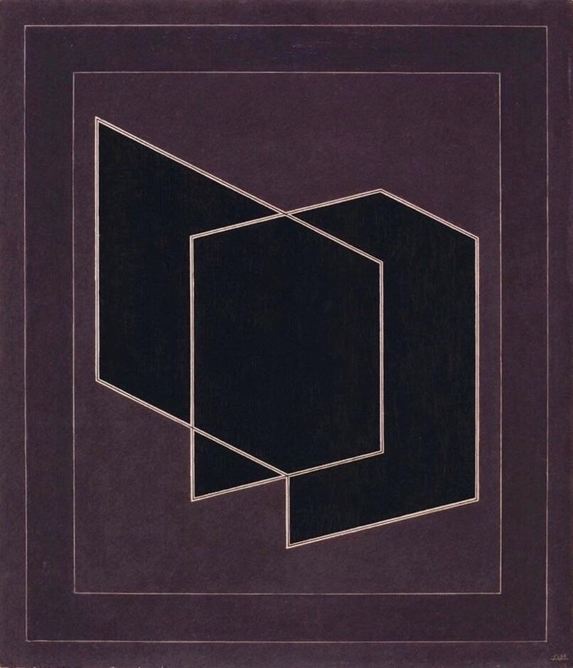 Josef - Penetrating, 1938 - Albers - bauhaus-movement | ello