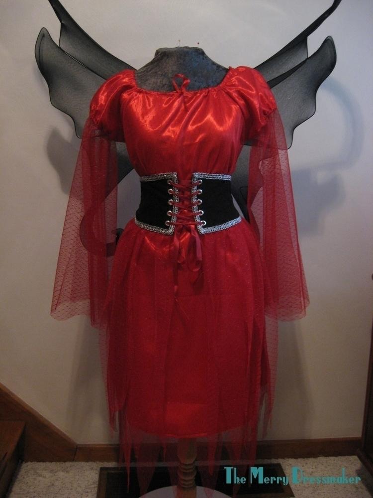 Faerie costume constructed red  - althornhill | ello