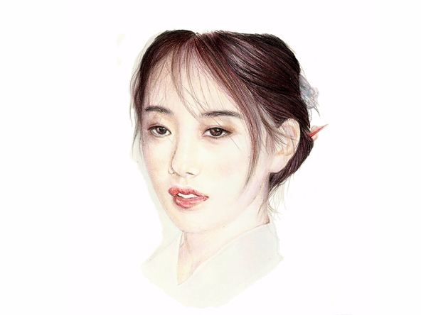 suzy, kpop, portrait, drawing - plyncheong | ello