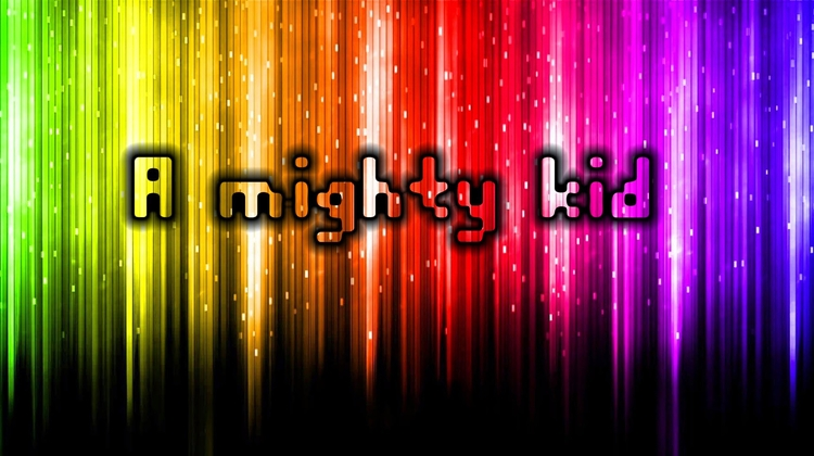red - mighty, kid, rainbow, black - maveez | ello