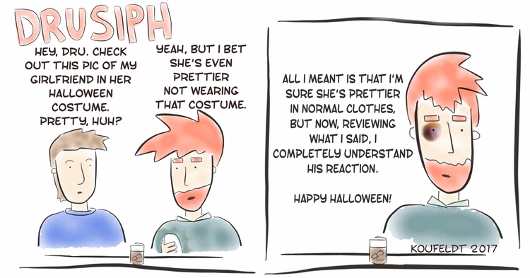 drusiph, tuesday, halloween, comic - drusiph | ello