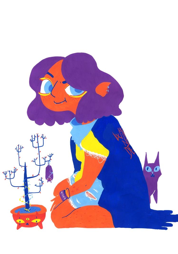 art, illustration, femaleillustrator - snailisa | ello