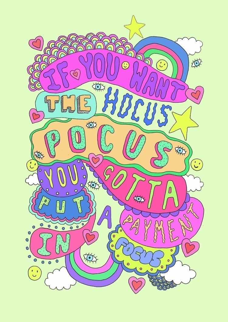 Hocus Pocus Gotta Put Payment F - saif-9654 | ello