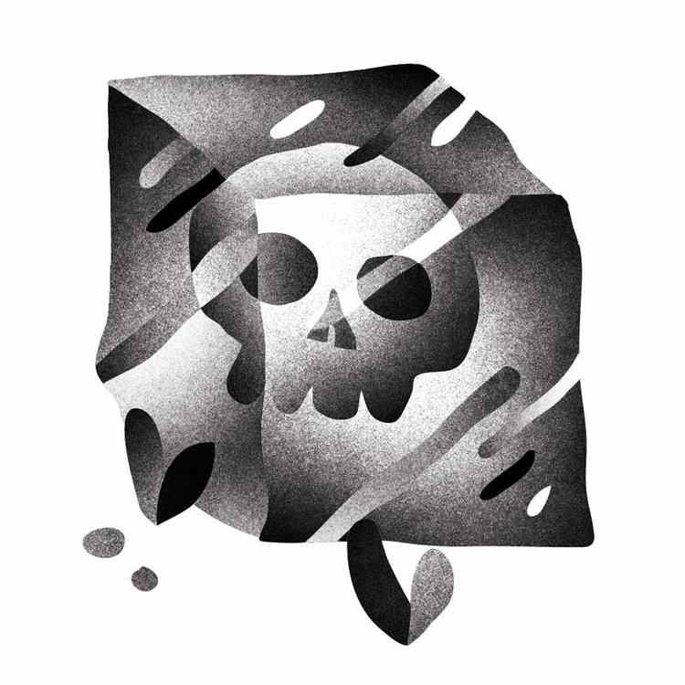 frozen skull - arenvandenburgh | ello