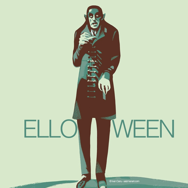 Elloween: cheers thirsty thin g - canuivan | ello