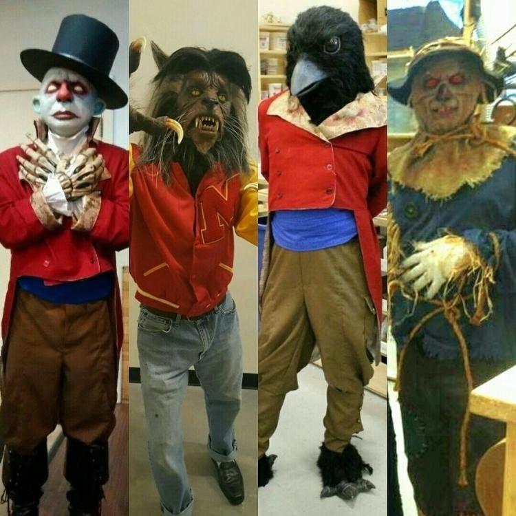 Halloween pasts - zombienose, Halloweencostumes - zombienose | ello