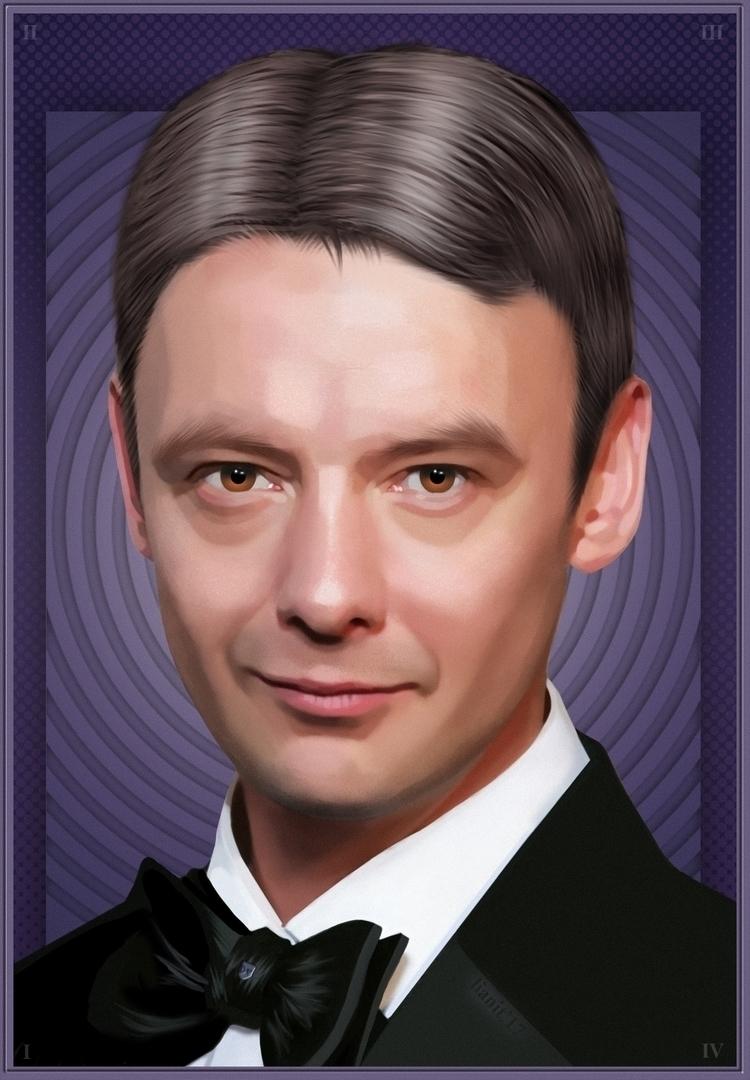 JohnSimm, DoctorWho, TheMaster - lianit | ello