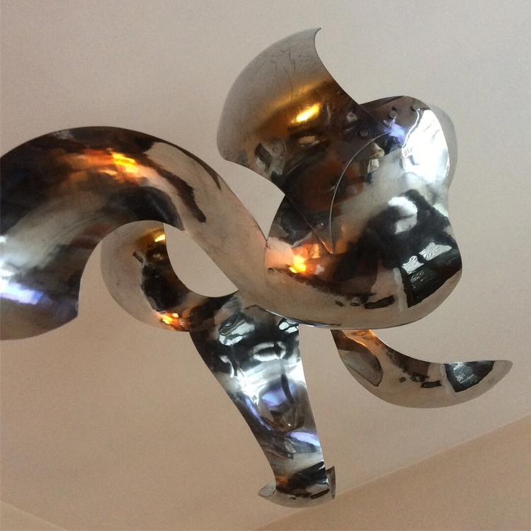 Aluminum sculpture ,Mobile - aluminum - ferruccio-maierna | ello