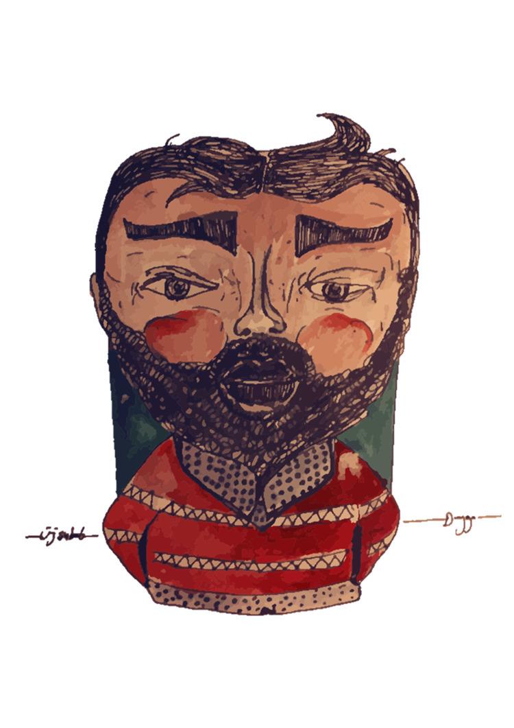 illustration, watercolor, man - duyguvatan | ello