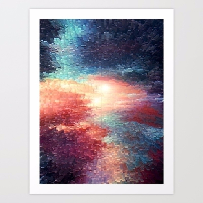 Digital romance - digital, art, abstract - printapix | ello