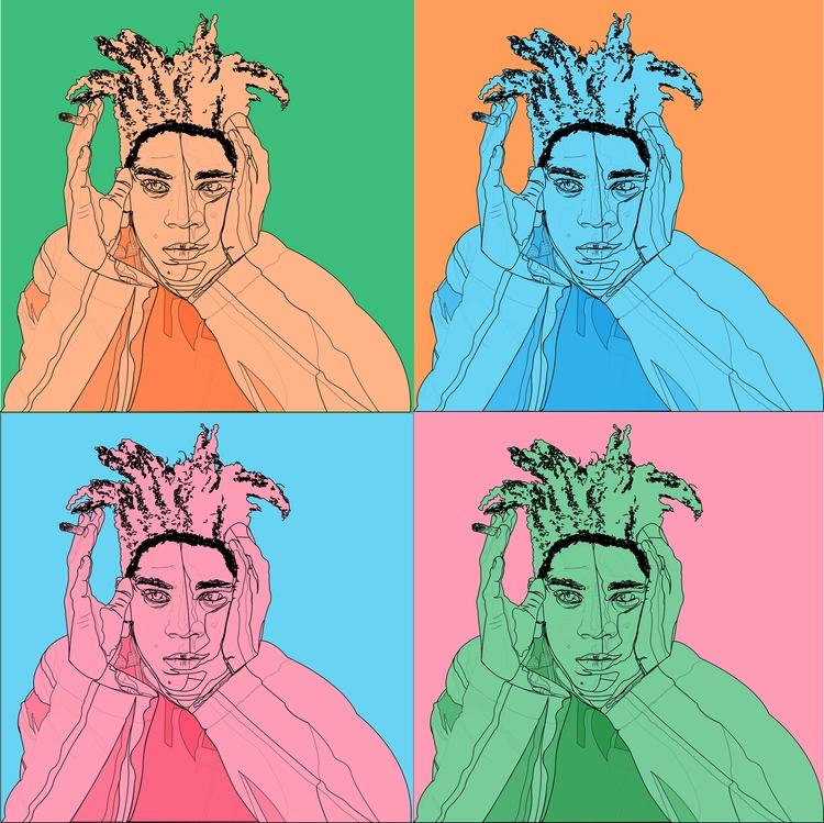 Tribute Jean_Michel Basquiat Su - vottos | ello