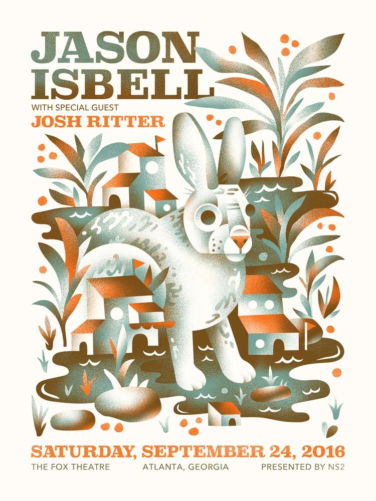 Jason Isbell poster year - arenvandenburgh | ello