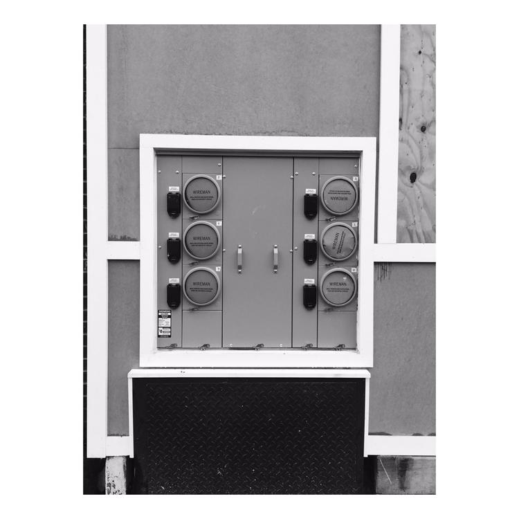 Wireman [conduit - photography, blackandwhitephotography - timmcfarlaneart | ello