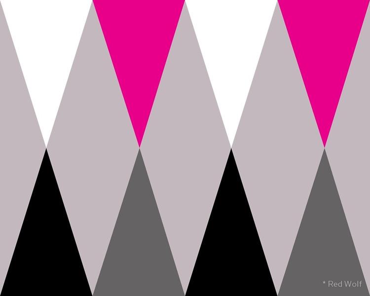Geometric Pattern: Harlequin: P - red_wolf | ello