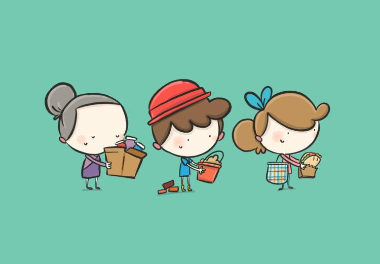 Illustrations created share eme - acervantes90 | ello