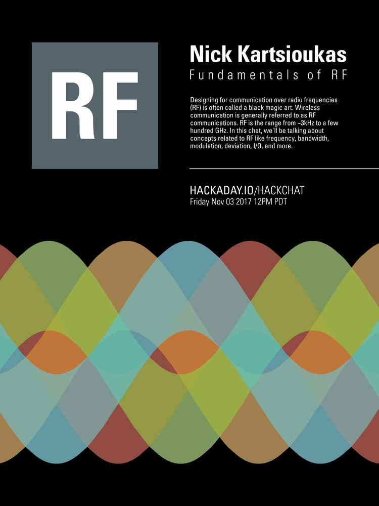 RF Hack Chat - poster, design, graphicdesign - randomwalks | ello