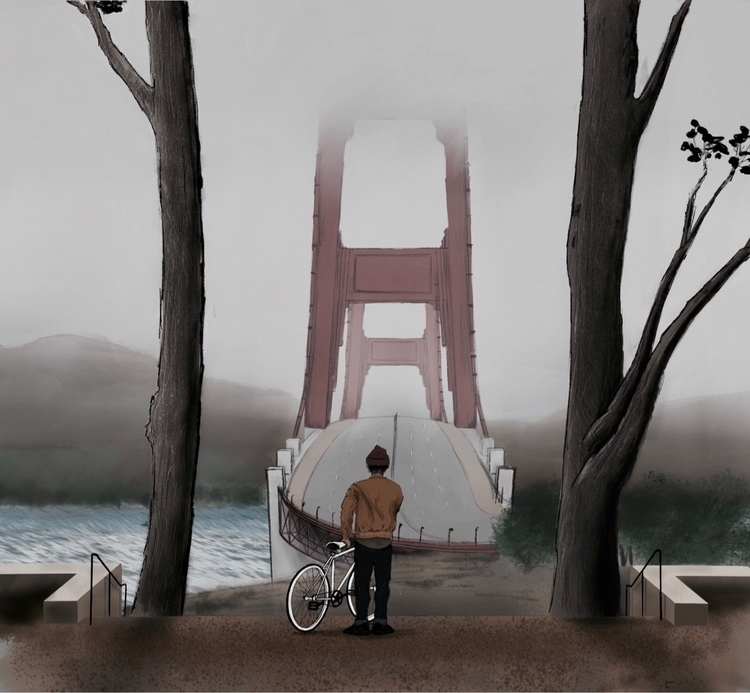 fog returns - Carl, SanFrancisco - rafalicious_ | ello