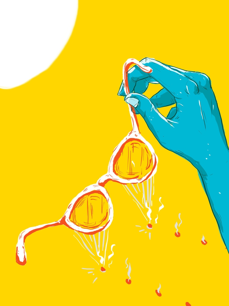 Hottest Summer - illustration, digitalillustration - guratnadi | ello