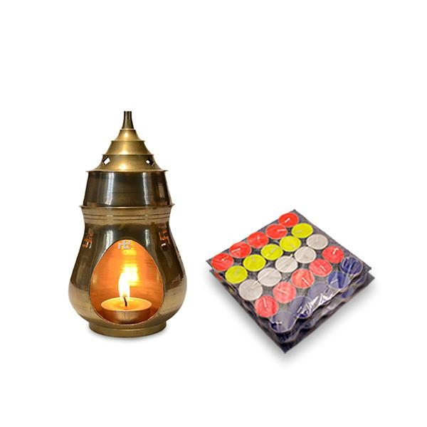 Brass Swastik Candle Diffuser - diffuser - yesnocp | ello