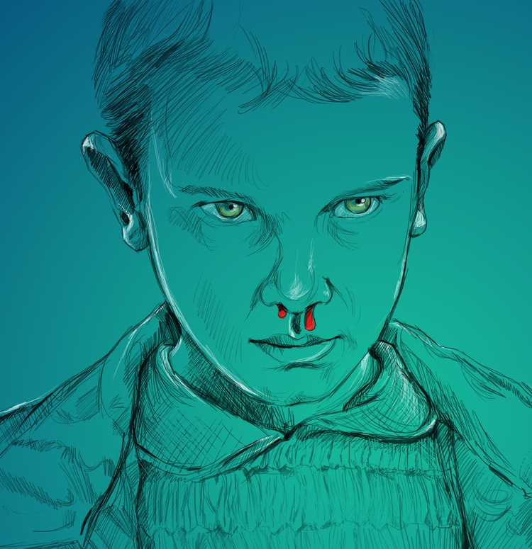 Illustration character 'Eleven - melvinthambi | ello