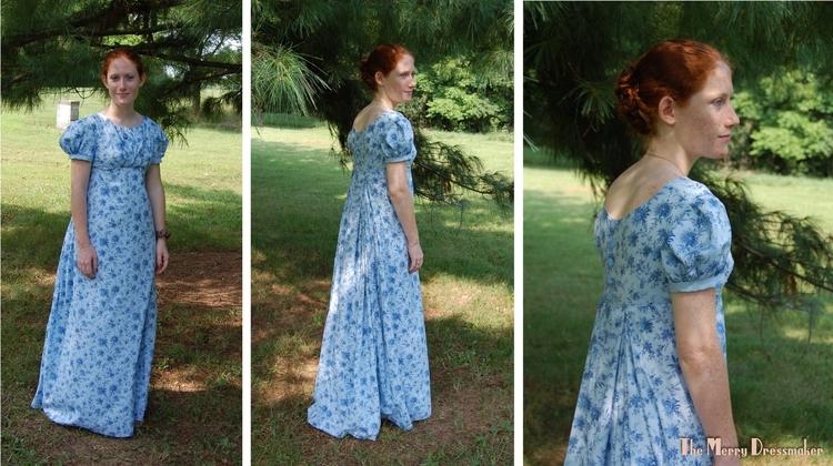Regency dress constructed light - althornhill | ello
