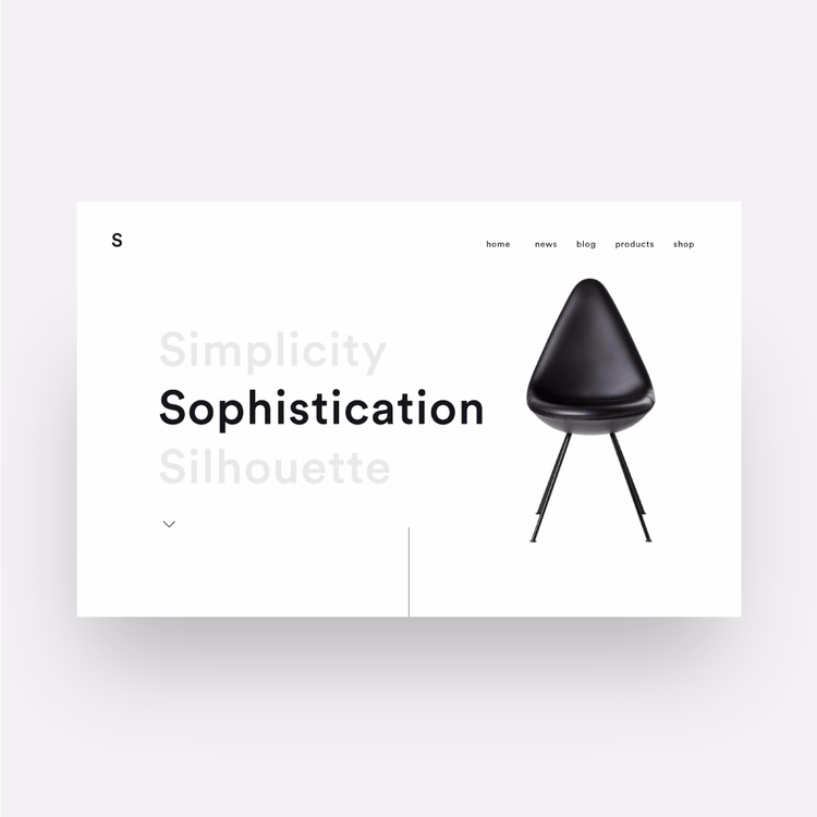 Sophistication - dailydesign, websites - eduardocarballo | ello