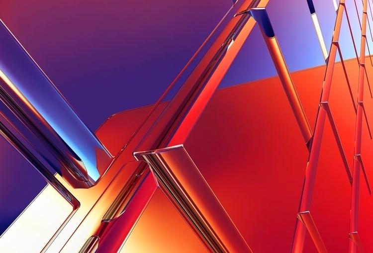 Experimental 3D Art Wallpapers  - andonni | ello