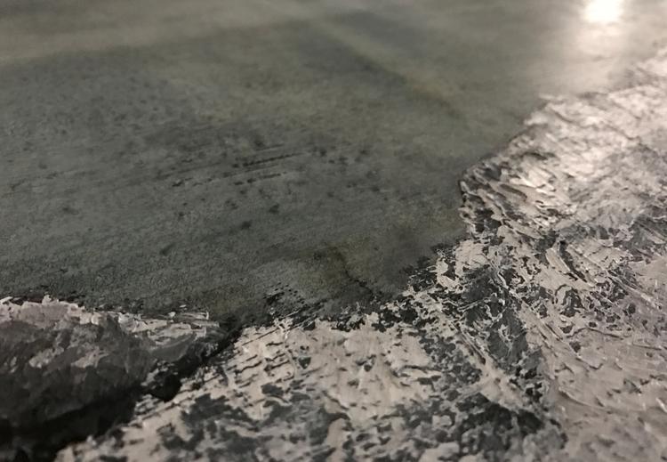 Silver Leaf, Acrylic gouache Cl - jtrojek | ello