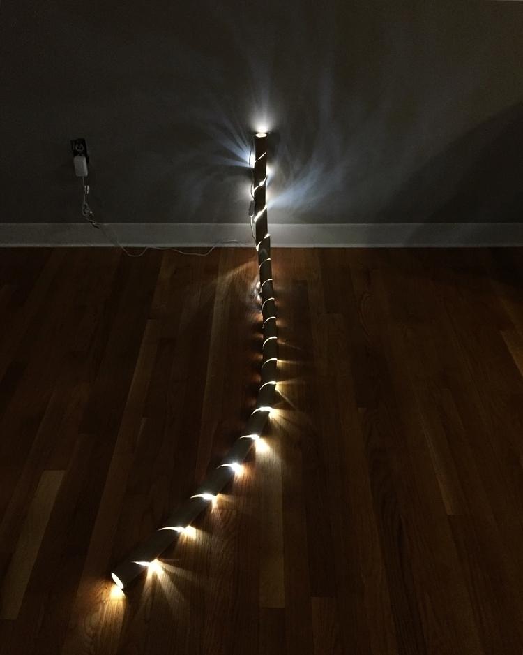 art, lightart, sculpture, installation - alexanderbauer | ello