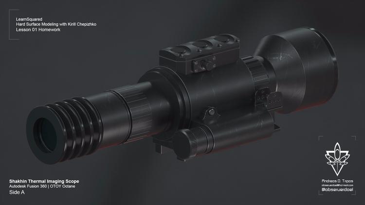 Shakhin Thermal scope modeled K - observerdoel | ello