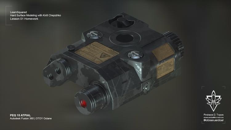 prop design Kirill Chepizhko Ha - observerdoel | ello
