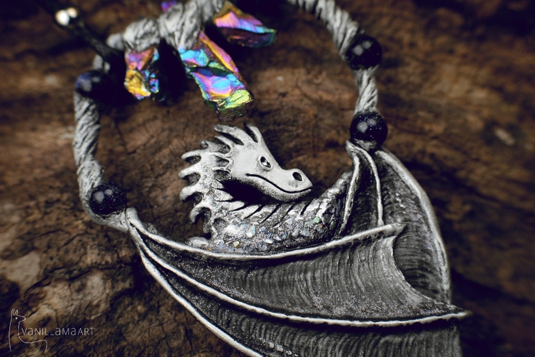 artjewelry, dragons, dragon, fantasy - dorotavl | ello