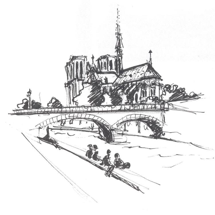 Catedral de Notre Dame (cuadern - maura2193 | ello