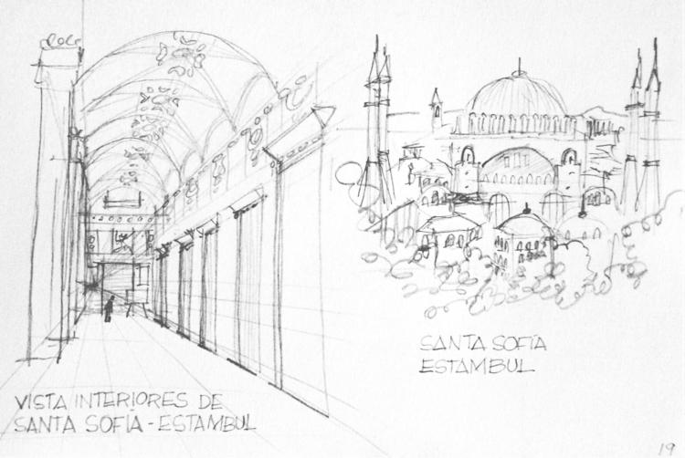 Santa Sofía en Estambul (Cuader - maura2193 | ello