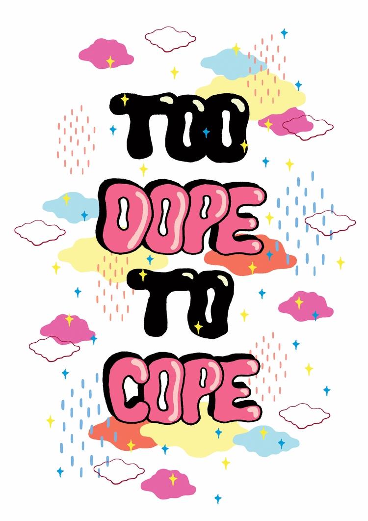 DOPE COPE typography based desi - saif-9654 | ello