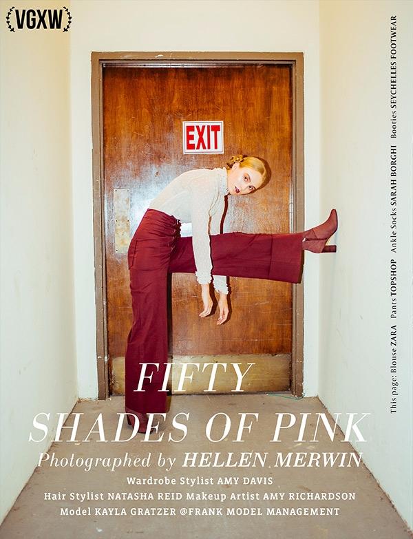 Fifty Shades Pink Hellen Merwin - virtuogenix | ello