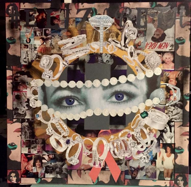 Iconic - Elizabeth Taylor Colla - antadams | ello