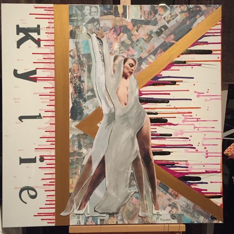 Iconic- Kylie Minogue Collage C - antadams   ello