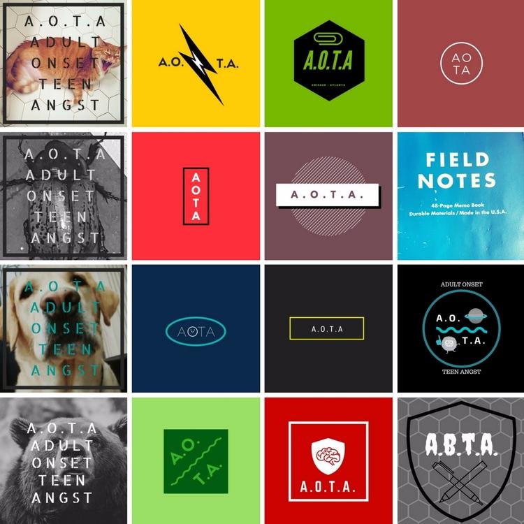 lot logo options settling - logos - babsandfrenchprod   ello