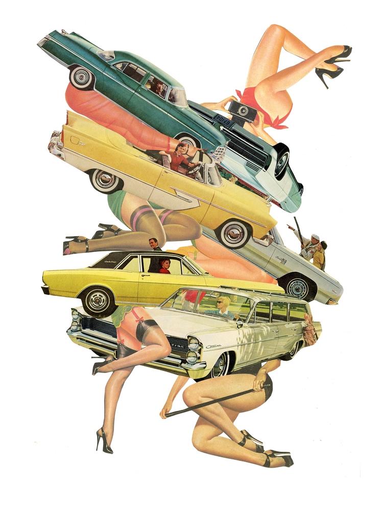 Drive Analogue collage vintage  - danielletcole | ello