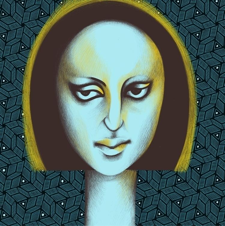 Saint - art, illustration, myworld - amika14 | ello