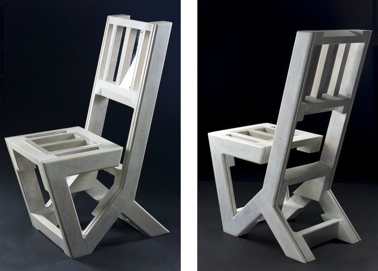 Dirk Gap-Chair (Fir wood contai - dirkmarwig | ello