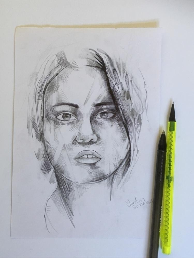 sketch improvements future draw - jordansummers | ello