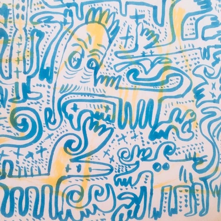 lazy drawing color. __ BLOG   I - babakesmaeli   ello
