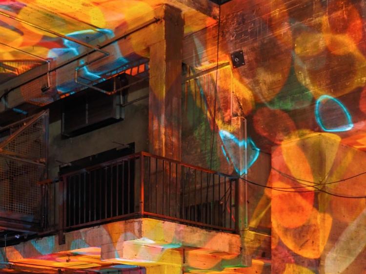 Detail architecture Kraftwerk,  - ellebasi | ello